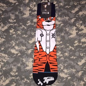 "Stance Detroit Tigers ""Paws"" socks"